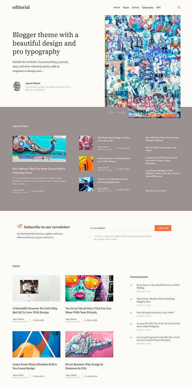 Brown Website Color Scheme