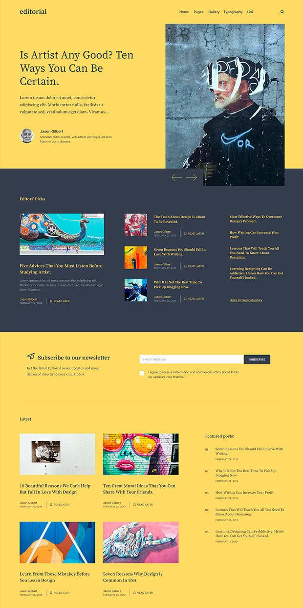Dandelion Website Color Scheme