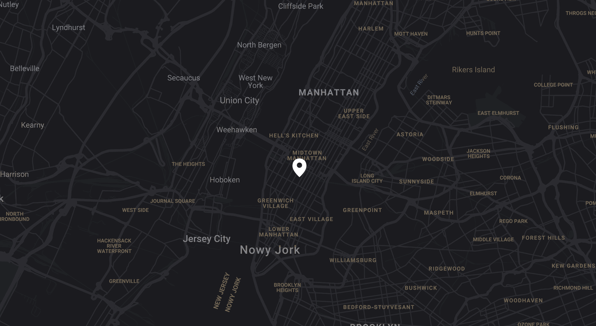 Google map widget for Static site