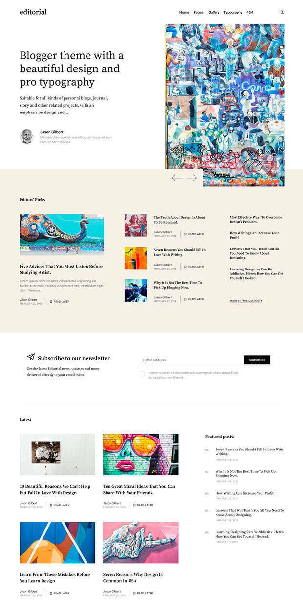 Light Website Color Scheme