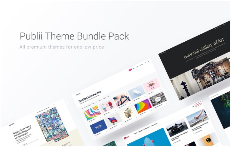 Publii All Themes Package