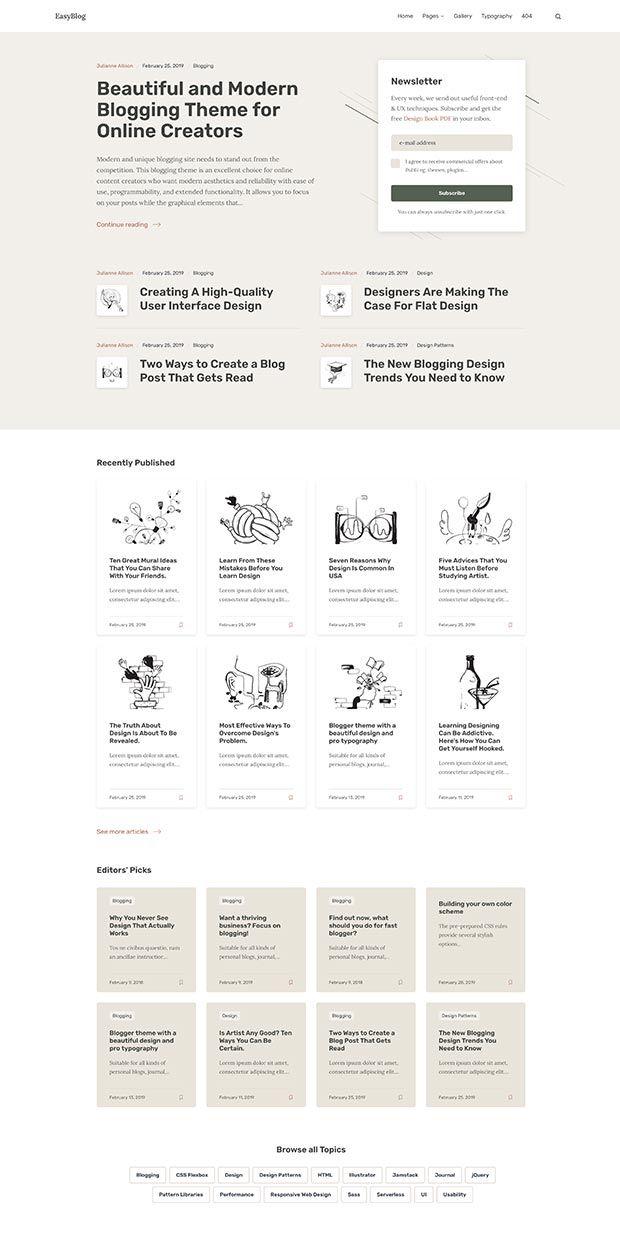 Green-beige Website Color Scheme