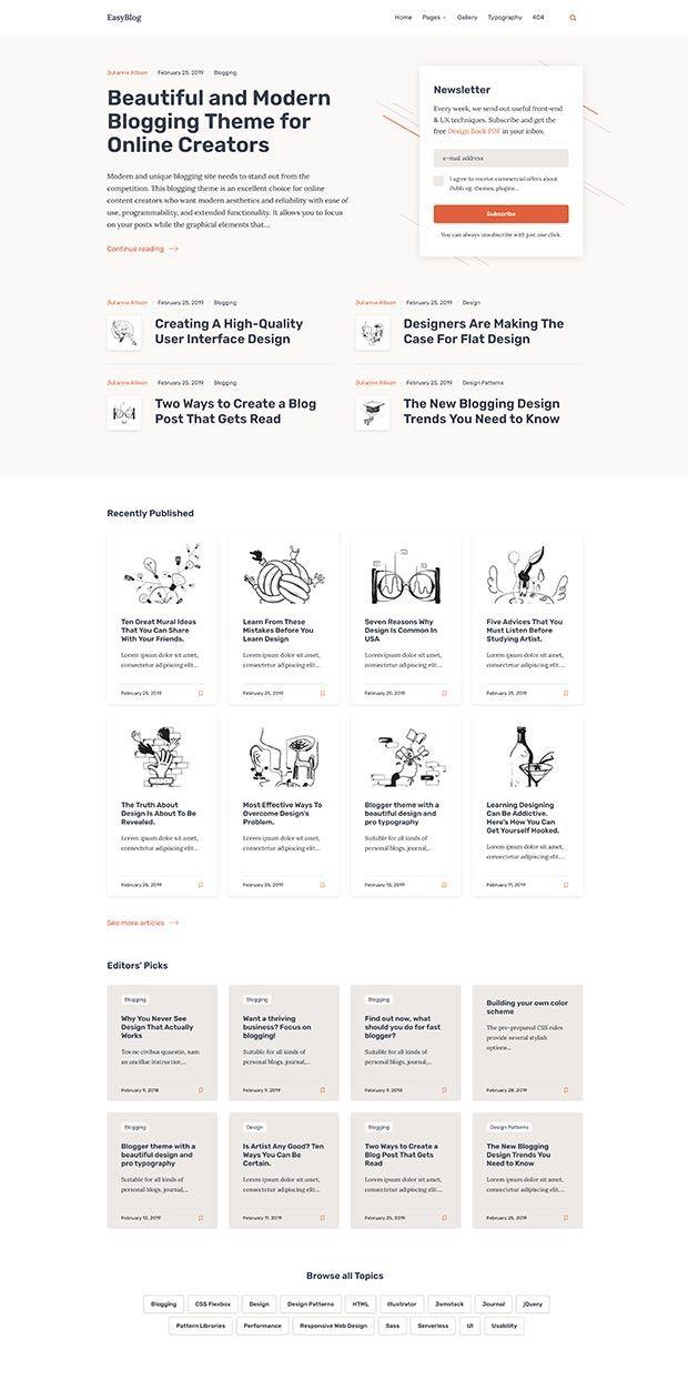 Orange-beige Website Color Scheme