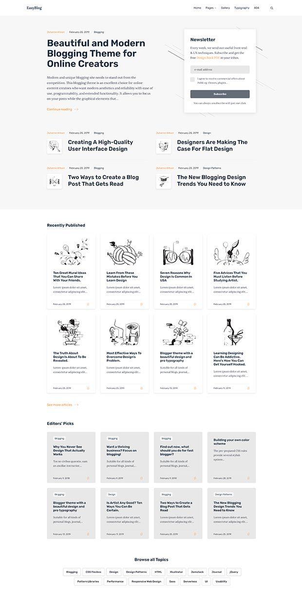 Orange-gray Website Color Scheme