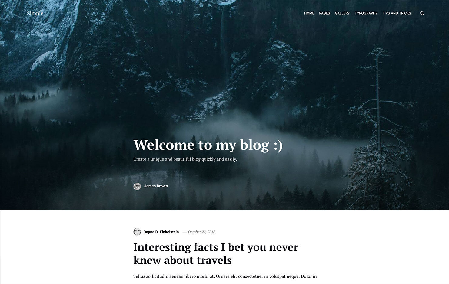 Marketplace of Static Themes and Addons - Publii CMS